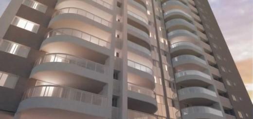 Imagem ilustrativa da fachada do edifício Picasso do condomínio Viure